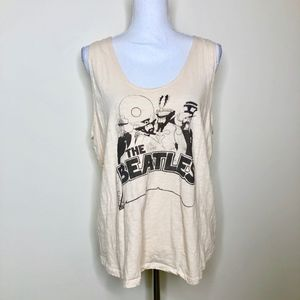 JUNK FOOD the Beatles Loose Fit Tank Top